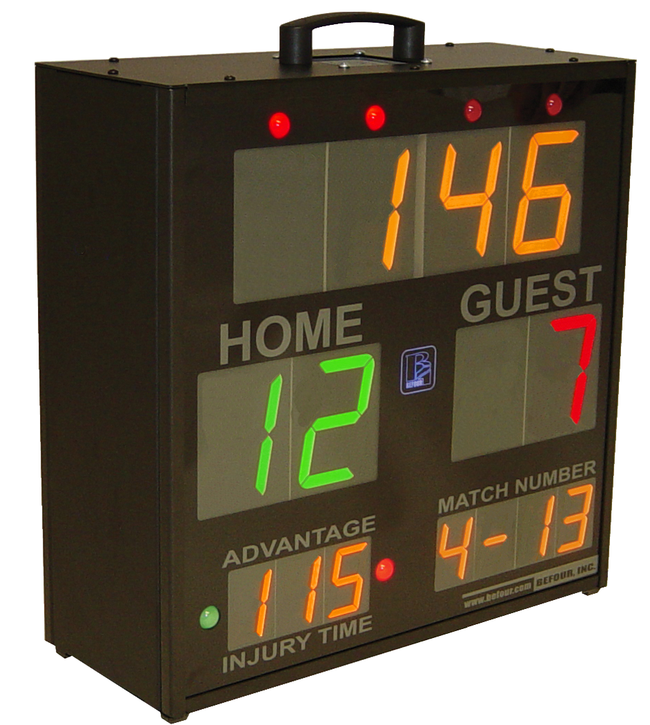 SS-3200T Wireless 2 sided Scoring Systems for Sports and Fitness